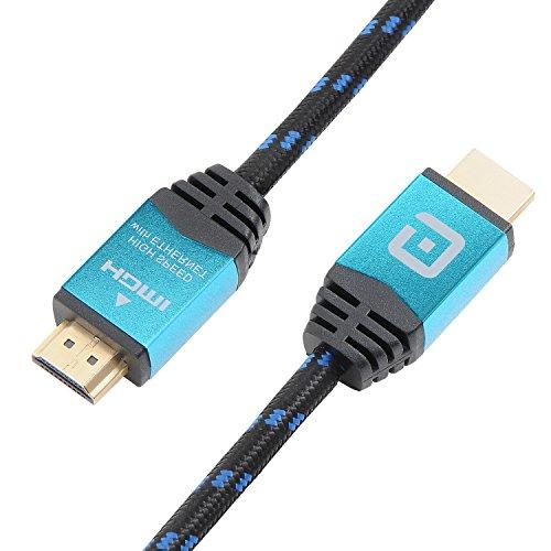 Guardian HDMI Kabel 1 Meter / kompatibel mit HDMI 2.0a, 2.0b, 2.0, 1.4a (Ultra HD bei vollen 60Hz, 4K, 3D, Full HD, 1080p, HDR, ARC, Highspeed mit Ethernet) Tv Guardian Hd