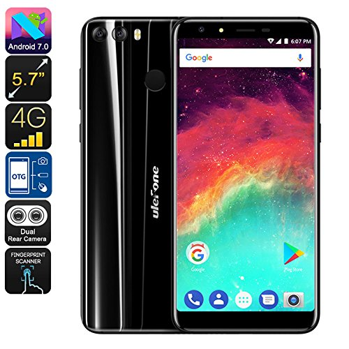 Ulefone Mix 2 Smartphone Android 7.0 CPU MediaTek RAM 2GB Batteria 3300mAh Nero