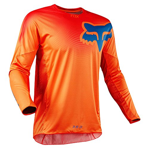 Fox Jersey 360 Viza, Orange, Größe L