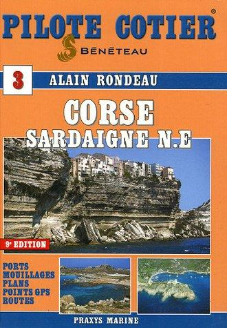 Pilote Côtier Corse-Sardaigne Nord Est (1Cédérom)
