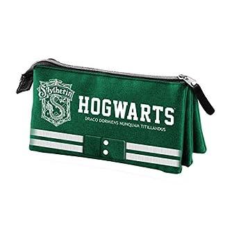 Karactermania Harry Potter Slytherin Estuches, 24 cm,  Verde