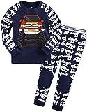 Vaenait Baby Kinder Jungen Nachtwaesche Schlafanzug-Top Bottom 2 Stueck Set Jeep M