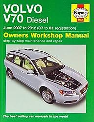 Volvo V70 Diesel Service and Repair Manual: 2007-2012 (Haynes Service and Repair Manuals)