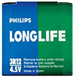 Philips Long Life Flachbatterie 3R12 4,5V