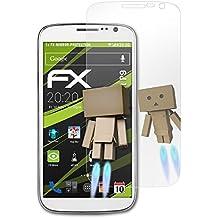 atFoliX Protección de Pantalla para Cubot P9 Lámina protectora Espejo - FX-Mirror Protector Película con efecto espejo