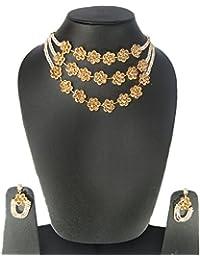 SATHIYA Designer Jewellery Set Premium Set