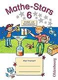 Mathe-Stars - Knobel- und Sachaufgaben: 6. Schuljahr - Übungsheft: Mit Lösungen