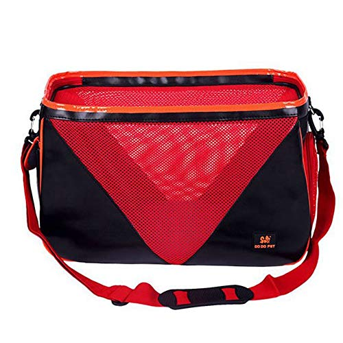 XGPT PET Carriers Dog Sling Bag Out-of-Port Portable,Red