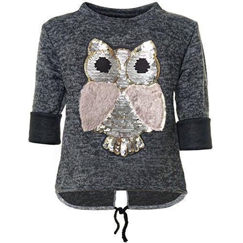 BEZLIT Mädchen Pullover mit Wende Pailletten Sweatshirt 21584