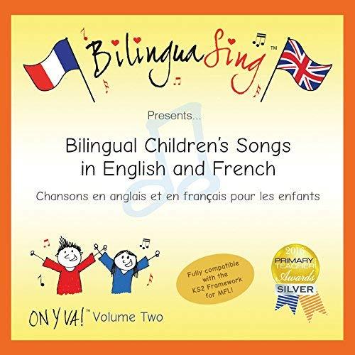sch Zweisprachige Musik für Kinder | Englisch-französische lernen kinder cd | BILINGUASING (On y va Vol.2) [Audio CD] BilinguaSing ... ()