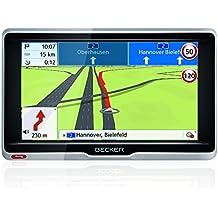 Becker professional.6 LMU Navigationsgerät (15,8 cm (6,2 Zoll) kapazitives Echtglasdisplay, 47 Länder, WiFi, Bluetooth, Sprachsteuerung) schwarz/silber