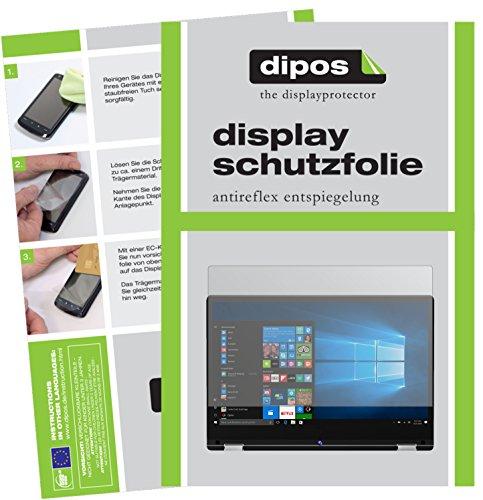 dipos I 2X Schutzfolie matt passend für Medion Akoya E3216 Folie Bildschirmschutzfolie