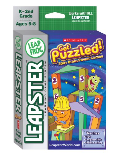 LeapFrog Leapster Learning Game Scholastic Get Puzzled by LeapFrog Enterprises