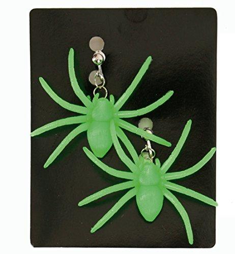 Halloween Spinne grün ()