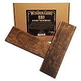 Whisky Planke Smokeboard Holzplanke Räucherbrett 2 Stück XXL ca 28cm lang