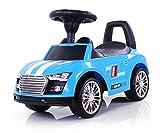 Girello Passeggino a forma di auto Auto per bambini - Seduta ribaltabile - Effetto sportivo come una vera macchina sportiva., Colore:Blu