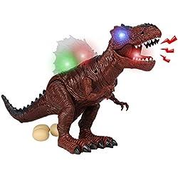 yoptote Dinosaurios Juguetes Set Tyrannosaurus Rex de Dinosaurios Figuras Decoracion Maqueta Dinosaurio Regalo para Niños Niñas 3 4 5 Años+