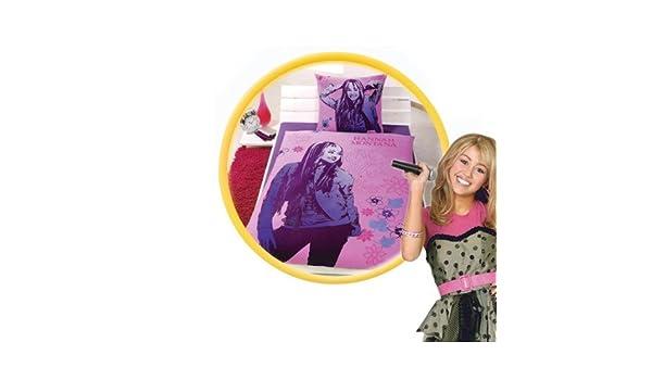 Wende-Bettwäsche Hannah Montana 135//200 mit 80//80cm