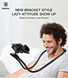 #8: [Original] Baseus Flexible Mobile Phone Holder Necklace Long Arm Lazy Bracket Soft Metal Holder Stand For iPhone iPad Air 4-10 inch Tablet