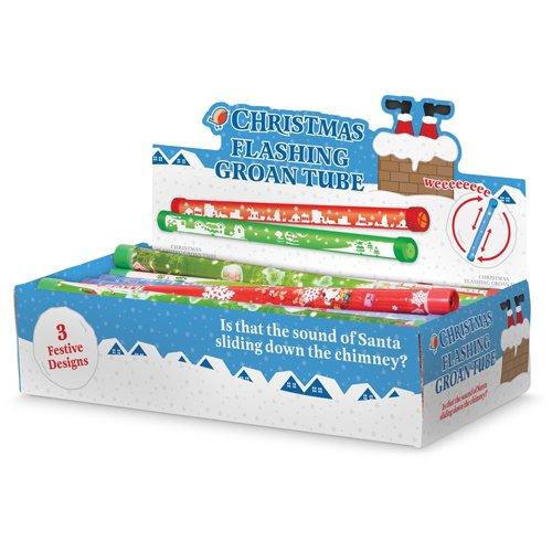 Preisvergleich Produktbild Weihnachten Flashing Groan Rohr Lärm machen Toy