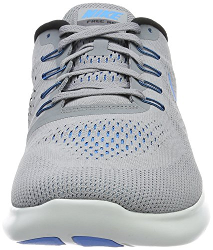 Nike Free Rn, Chaussures de Running Homme Gris (Stealth/Blue Glow/Black/Cool Grey)