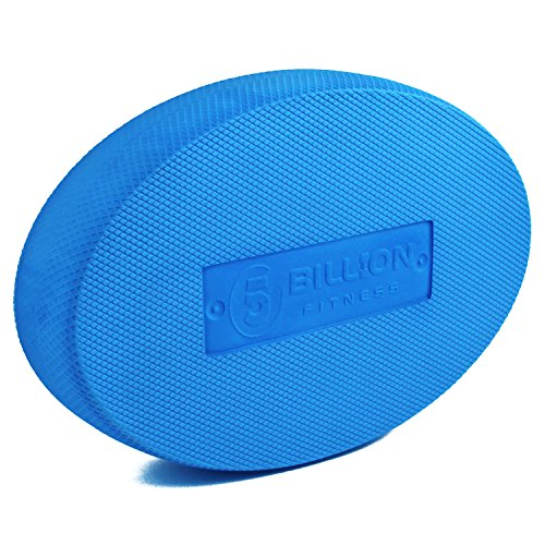 5BILLION Balance Pad - Oval - Übungspad & Schaum Balance Trainer - Wobble Kissen für physikalische Therapie, Rehabilitation, Tanz Balance Training