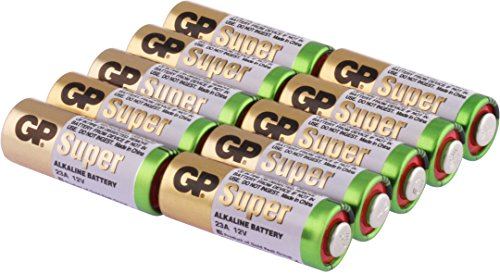 Batterie V23GA (2996 Batterie 4223 V 23 GA 12V) 10 Stuck im Multi-Sparpack - GP MarkenWare