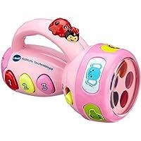 Vtech 80-124054 - Fröhliche Taschenlampe, pink preisvergleich bei kleinkindspielzeugpreise.eu