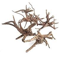 Huiouer - Tronco di legno decorativo per acquario