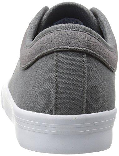 K-Swiss Bridgeport Ii, Sneakers Basses Mixte Adulte Gris (Charcoal/black)
