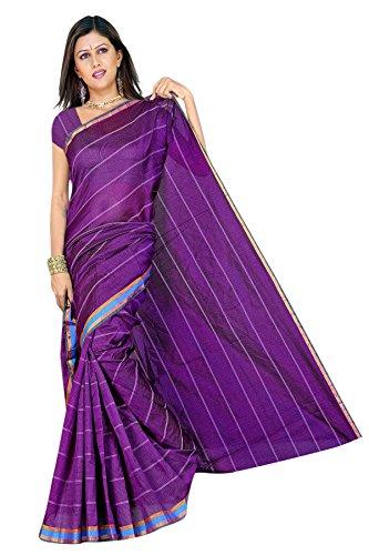 Araham Blended Saree (Saks0002_Dark Purple)