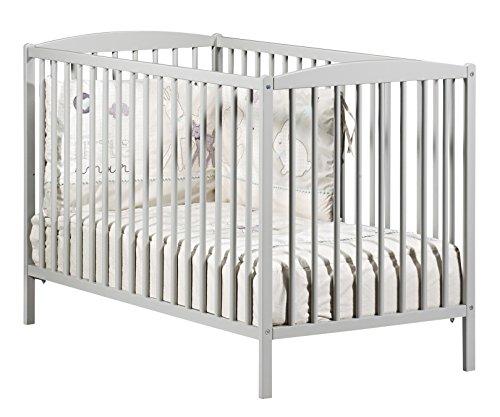 Baby Price New Leaf 3posiciones gris bebé de cuna 120x 60cm