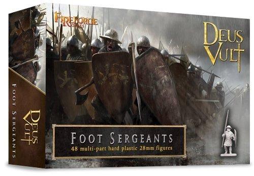 Preisvergleich Produktbild Foot Sergeants - 28mm Hard Plastic figures by Fireforge Games by Fireforge Games