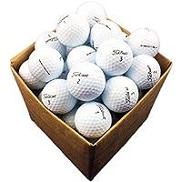 12 x Titleist Pro V1 palline da golf premium / refinished - pearl grade