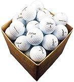 12 x Golfbälle Titleist Pro V1 refinished pearl/mint Klasse