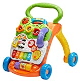 Best VTech Toddlers Toys - VTech Sit-To-Stand Learning Walker - Orange Review