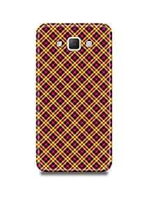 Samsung A7 Cover,Samsung A7 Case,Samsung A7 Back Cover,Plaid Samsung A7 Mobile Cover By The Shopmetro-17069