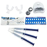 Teeth Whitening Kit - Professional Teeth Whitening at Home includes LED Light and Whitening Gel - Marbonne Activated Teeth Whitening Gel provides Fast Results - Backed with our Money Back Guarantee! Bild 2