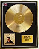 Everythingcollectible Elvis Presley/Edition Limitee/Cadre Disque d'or CD Vinyle/Christmas with Elvis & The Royal Philharmonic Orchestra