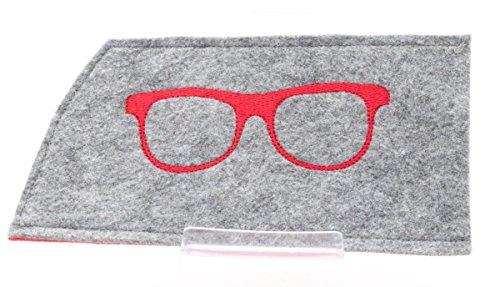 Brillenetui aus Filz versch. Farben [Wunschanfertigung]