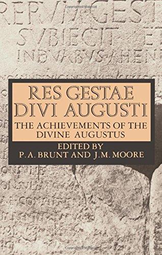 Res Gestae Divi Augusti: The Achievements of the Divine Augustus por Augustus Caesar