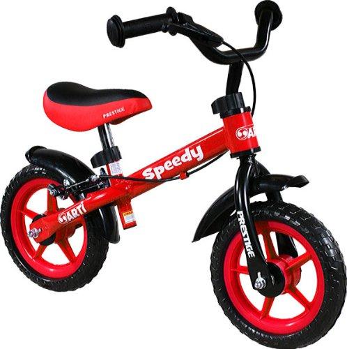 Bicicletta senza pedali - Balance bike - Bike - Biciclette per bambini - Bici - Prima bicicletta ARTI Speedy M Luxe Red/Rosso First Bike
