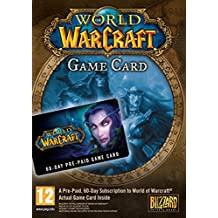 World of warcraft - carte prépayée 60 jours [import anglais]