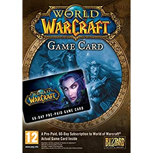 World of Warcraft 60 Day Pre-Paid Game Card [UK Import]
