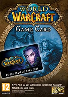 World of Warcraft 60 Day Pre-Paid Game Card [UK Import] (B000BPCILI) | Amazon price tracker / tracking, Amazon price history charts, Amazon price watches, Amazon price drop alerts