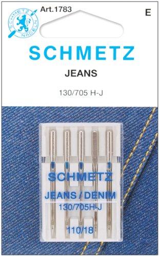 Euro-Notions Roll The Jean y Tela Vaquera Agujas de máquina, 9.39X 6,85x 0.25cm