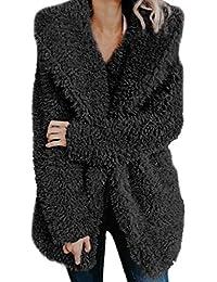 überlegene Materialien echte Qualität stylistisches Aussehen Suchergebnis auf Amazon.de für: Teddy - Mantel - Schwarz ...