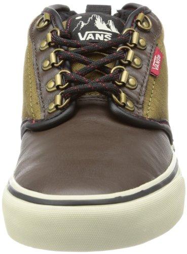 Vans M ATWOOD MID (HIKER) ESPRESS, Sneaker uomo Nero (Schwarz ((Hiker) espresso/olive))