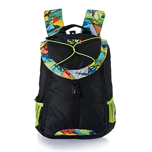 Wildcraft Wiki Daypack 34 liters Black Casual Backpack (8903338049074)