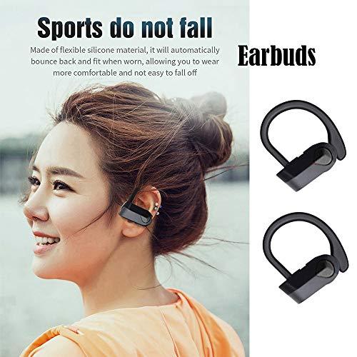 TianranRT Bluetooth kabellos Ohrhörer Headset Kopfhörer Kopfhörer für iPhone/Samsung/HTC Ipod Nano Mic